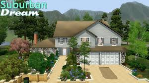 sims 3 house suburban dream youtube