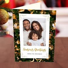 photo upload season s greetings family card greetings world