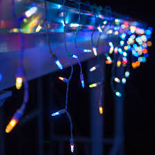 led lights 50 m5 multicolor color change led icicle lights