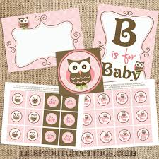owl baby shower decoration ideas owl baby shower printable