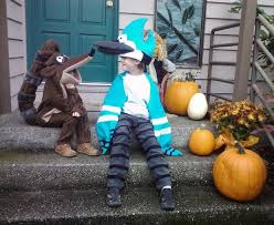 Jake Finn Halloween Costumes Rigby Regular Show