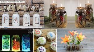 Mason Jar Centerpiece Ideas Diy 101 Mason Jar Decor Ideas Home Design Garden U0026 Architecture