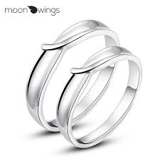 couples rings images Dream wing jewelry standard s925 silver jewelry silver ring ring jpg