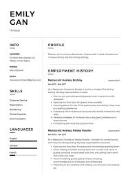 sle hostess resume lovely hostess tasks resume photos entry level resume templates
