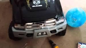 Dodge Ram 3500 Truck Parts - ram 3500 dually kid trax custom powerwheel youtube