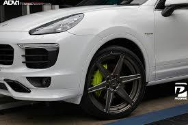 porsche oem wheels white porsche cayenne adv6 m v2 sl wheels polished smoked