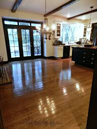 Sanding Floor by No Sanding Non Toxic Wood Floor Refinishing Redhead Can Decorate
