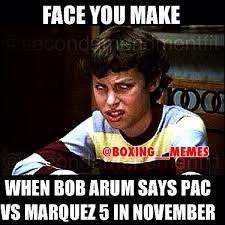 Boxing Meme - boxing memes on twitter bob arum always looking to recycle