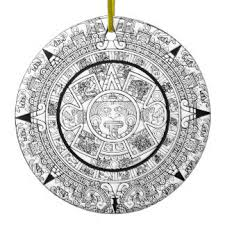 aztec calendar ornaments keepsake ornaments zazzle