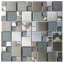 Wholesale Glass Mosaic Tile Squares Red Rose Pattern 304 by Wall Accent Glossy Surfaces Mosaic Accent Bathroom Tiles