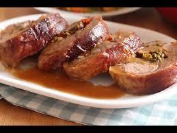 cuisine gigot d agneau gigot d agneau farci et cuit au four stuffed leg of فخذ