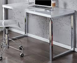 designer schreibtisch wei design schreibtisch fokus hochglanz weiss 120cm x 60cm dunord