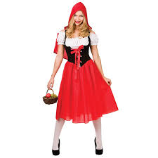 red riding hood spirit halloween ladies little red riding hood fancy dress up party halloween