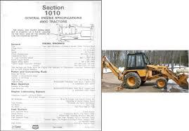 case 480c backhoe loader tractor service repair workshop manual cd