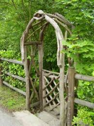 Diy Craft Projects For The Yard And Garden - diy garden ideas garden arch and bench ideas for an organized