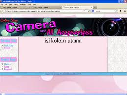 membuat web html aza fransysxa tutorial membuat halaman produk toko online