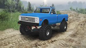 lexus truck on 26s chevrolet c10 cheyenne 1972 blue for spin tires