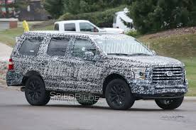 ford expedition 2017 spied new ford expedition on its way for 2018