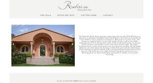 rubirosa architecture photography web design logo design