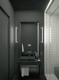 Black And White Modern Bathroom by Modern Decor Meets Classical Features In Two Transitional Home Designs