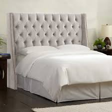 olympia tufted upholstered headboard in various sizes dove