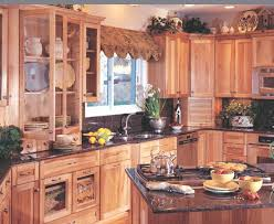 Plain Oak Kitchen Cabinets Country Style Frosted Glass Cabinet - Country cabinets for kitchen