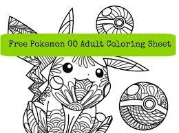 free pokemon coloring sheet u2013 craft gossip