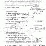 dimensional analysis worksheet answers ap chemistry page ideas