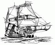coloriage pirate dessin à imprimer gratuit