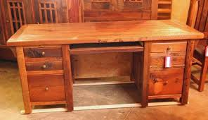 Reclaimed Wood Desk Rustic Desk Cabin Furniture Reclaimed Wood Office Furniture