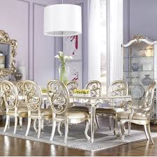 american drew jessica mcclintock couture antique mirrored dining