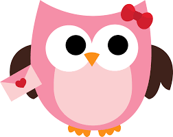 image of pink owl clipart 10887 free printable owl clip art