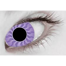 extreme eyes plasma purple scary contact lenses halloween