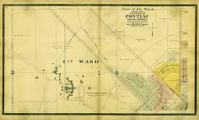 Map Of Oakland County Michigan by 1896 Oakland County Plat Maps U2013 Kace Publishing Company U2013 Pontiac