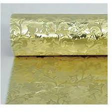 wrap wrapping paper patterned camelot gold foil food wrap wrapping paper large