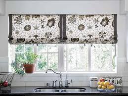 diy kitchen curtains diy kitchen window treatments