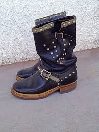 classic motorcycle boots vintage engineer boots archives the best of vintage