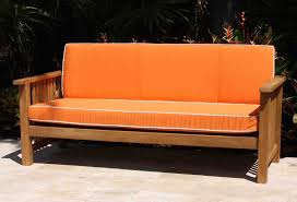 Orange Chaise Lounge Cushions Ideas Comfy Sunbrella Cushions With Beautiful Option Colors For