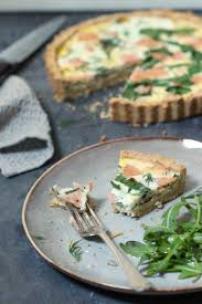 quiche cuisine az smoked salmon quiche the green spoon