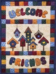 birdhouse quilt pattern appliqued birdhouse quilts birdhouse quilt quilting pinterest