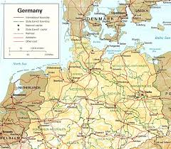 map of germany index of genealogy history maps germany