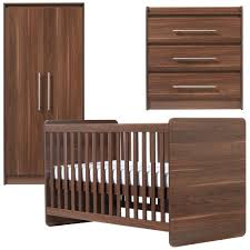 Nursery Furniture Set by Ascot Nursery Furniture Set In Walnut Babies R Us