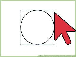how to draw a perfect circle on microsoft paint 11 steps