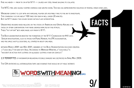 some facts about 9 11 for the open minded by wordswithmeaning on