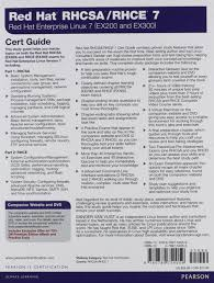 red hat rhcsa rhce 7 cert guide red hat enterprise linux 7 ex200
