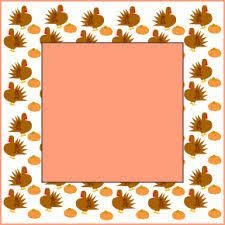 thanksgiving borders and frames thanksgiving clip border