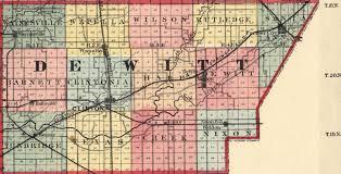 Map Of Counties In Nebraska De Witt County Illinois Maps And Gazetteers