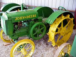 list of john deere tractors