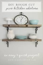 Shelf Kitchen Best 25 Pine Shelves Ideas On Pinterest Galvanized Pipe