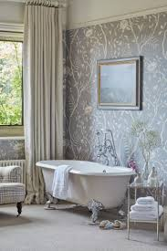 Interior Wallpaper Desings by The 25 Best Bathroom Wallpaper Ideas On Pinterest Half Bathroom